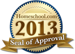 Homeschool.com 2013 Seal of Approval
