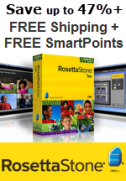 Save up to 47% on Rosetta Stone