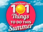 103 Things To Do This Summer
