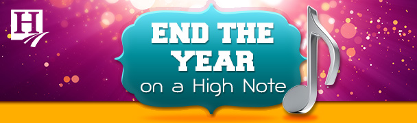 End the Year on a High Note Freebies