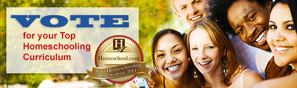 Vote for the Top Homeschooling Curriculum