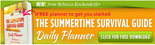 Summertime Survival Guide Daily Planner