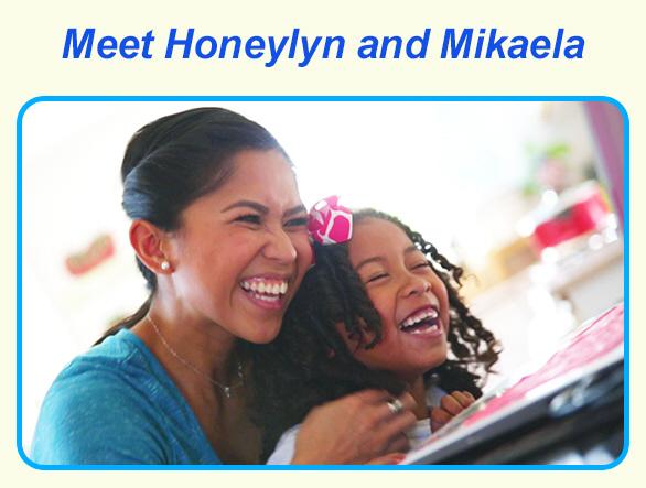 Meet Honeylyn and Mikaela