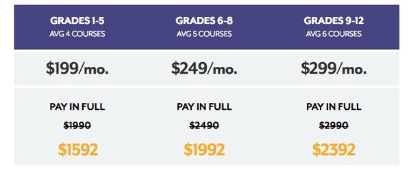 2017 AOA Enrollment Prices