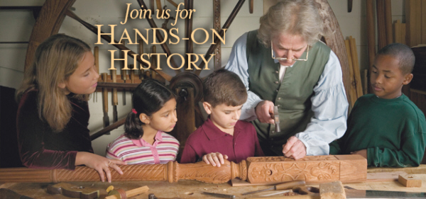 Join Us for Hands-on History