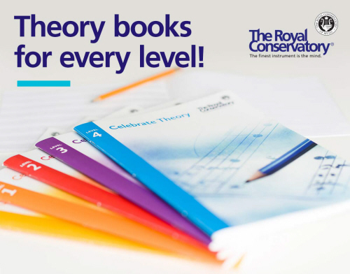 Theory books for every level!