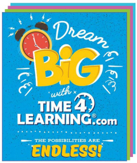 Bonus! Receive Time4Learning's Organizer and Printables Packet when you Sign Up*