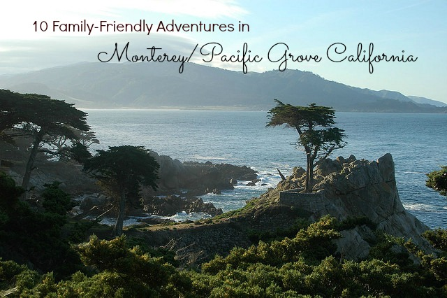 10 family friendly adventures in Monterey and Pacific Grove California