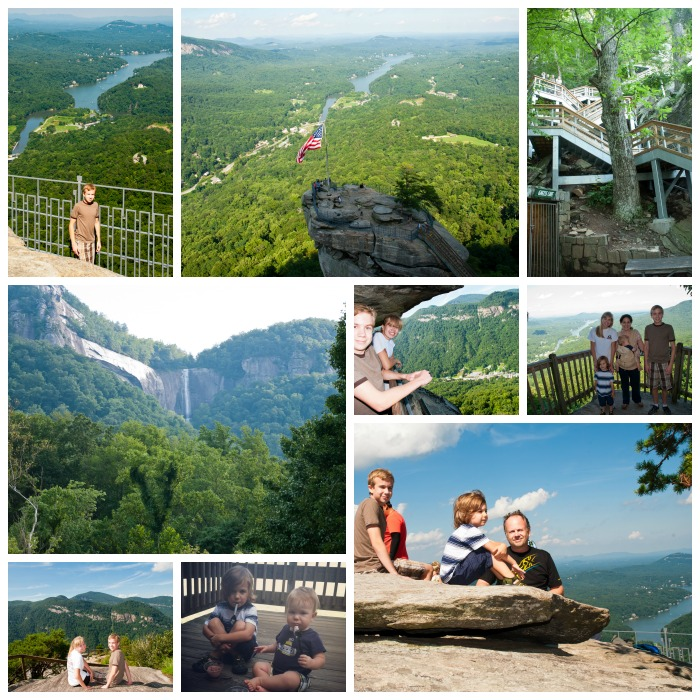 Chimney Rock State Park Kids