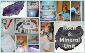 FREE rock and minerals unit study!