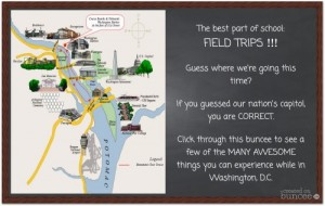 A buncee field trip
