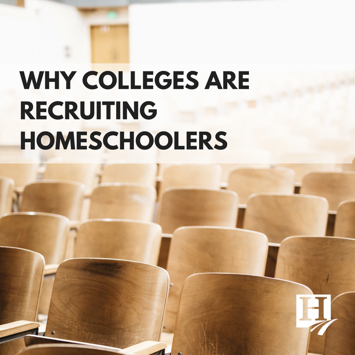 Why Colleges are Recruiting Homeschoolers