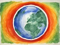 9 Activities for Earth Day FUN colorful earth
