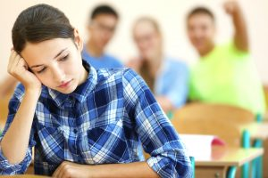 Students who suffer from learning problems may feel isolated.