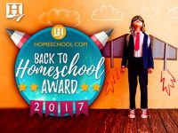 Back to Homeschool Awards graphic