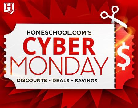 Cyber Monday at Homeschool.com