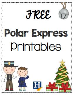 Free Polar Express Printables