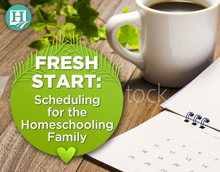Homeschool Scheduling for the Family