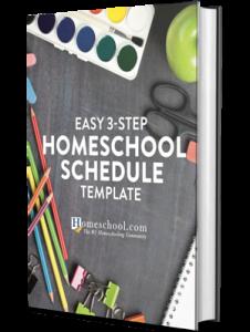 Easy 3 Step Homeschool Scheduler