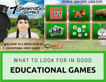 What to Look for in Good Educational Games