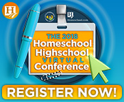 An online homeschool convention? Yes, please!