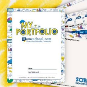 Homeschool Portfolio Printable Pack
