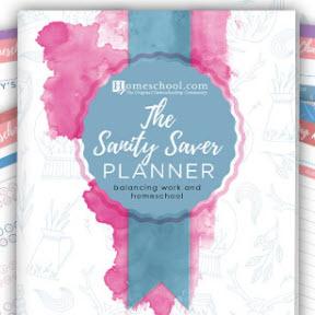 The Sanity Saver Homeschool Planner