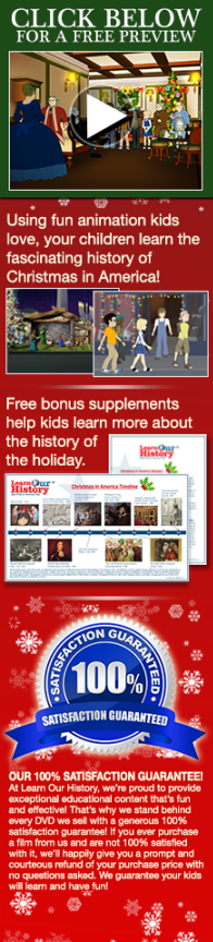Watch a preview of your FREE Christmas DVD!