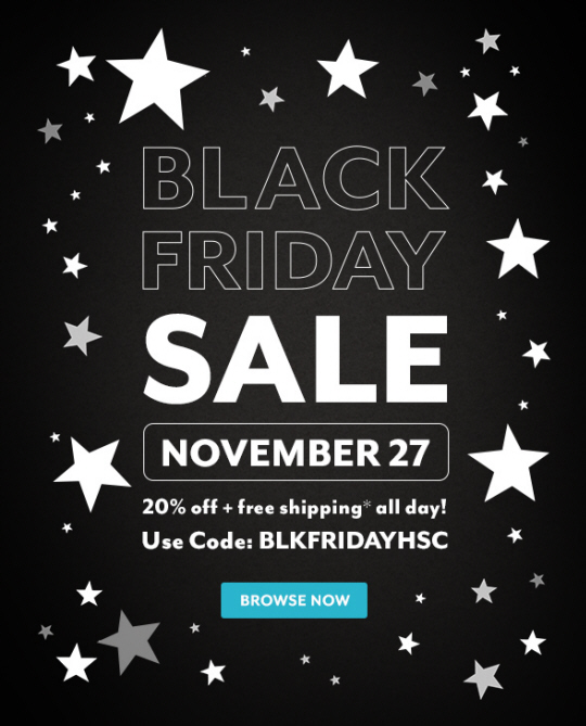 Sneak a Peek at Our Black Friday Sale
