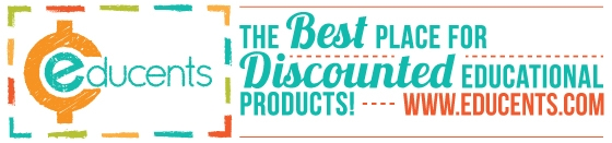 Image of the header which reads as Educents, the best place for discounted educational products