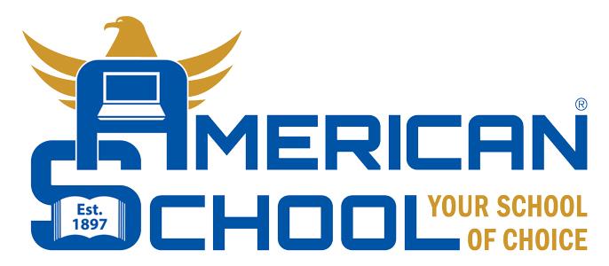 American School Logo