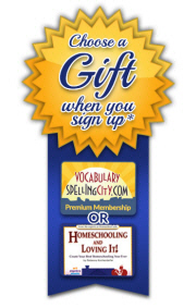 Sign Up and Choose a Gift