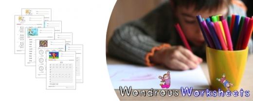 Wondrous Worksheets