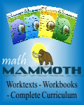 SAVE UP TO 50% on Math Mammoth