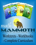 SAVE 50% on Math Mammoth