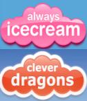 BIG SAVINGS on Always Icecream Clever Dragons