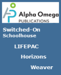 SAVE 20% + FREE SHIPPING + BONUS SMARTPOINTS on Alpha Omega Publications