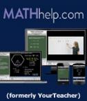 SAVE 40% on MathHelp.com