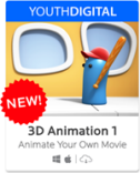 SAVE 40% + GET 500 SMARTPOINTS on 3D Animation 1
