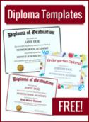 FREE! on Homeschool Diploma Templates