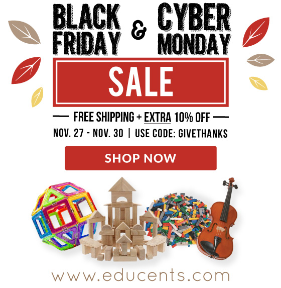 BLACK FRIDAY & CYBER MONDAY SALE!!!! Get an extra 10% off + FREE SHIPPING site wide! Just use code: GiveThanks