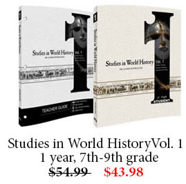 Studies in World History Vol. 1