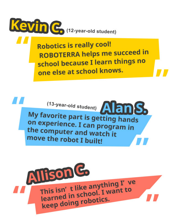 Student Testimonials (Kevin, Alan, and Allison)
