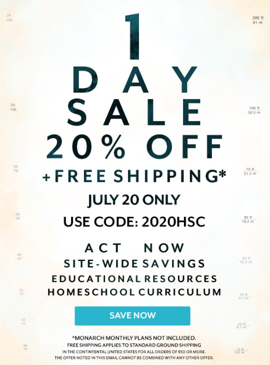 20/20 Sale | 20% off Everything* at AOP on July 20