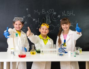 Homeschoolers can participate in science fairs!