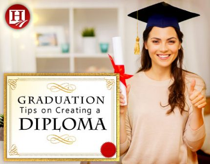picture relating to Printable Home School Diploma named Producing a Homeschool Degree for Your Substantial College University student