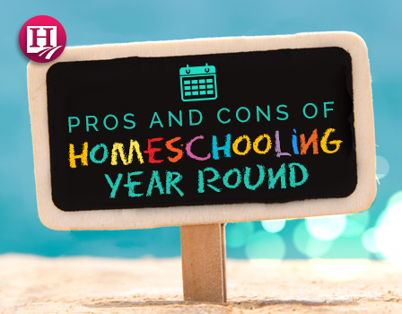 Do you know the pros and cons to homeschooling year-round?