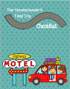 Don't leave home without checking our field trip checklist first!