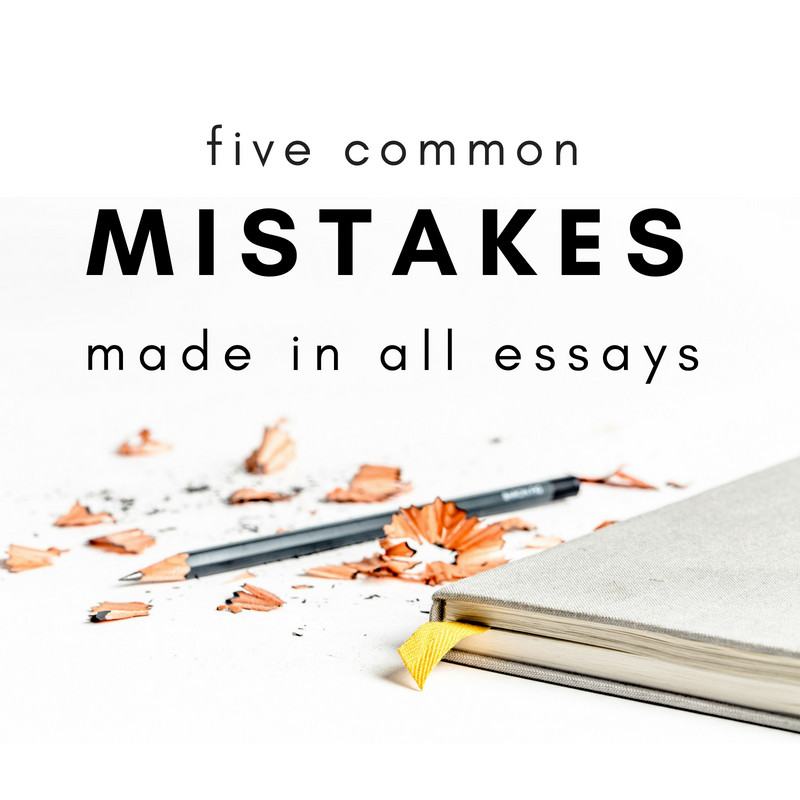 5 Common Mistakes Made in All Homeschool Essays