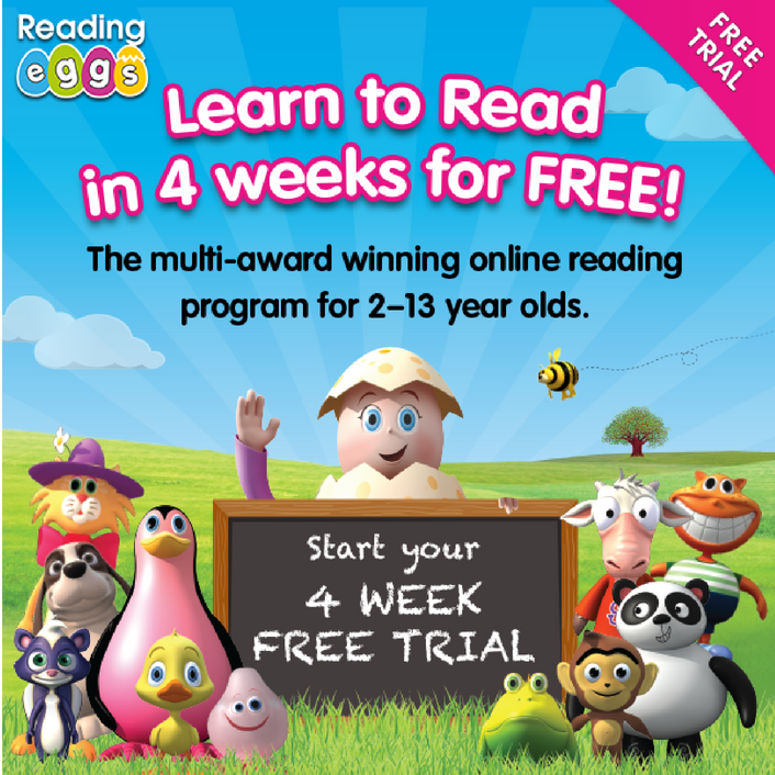 Learn to Read with Reading Eggs